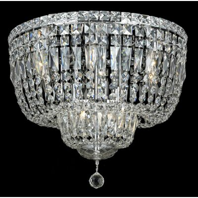 Elegant Lighting Tranquil 10 Light Flush Mount