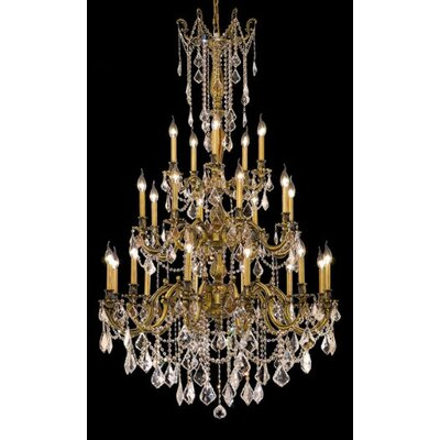 Elegant Lighting Rosalia 25 Light  Chandelier