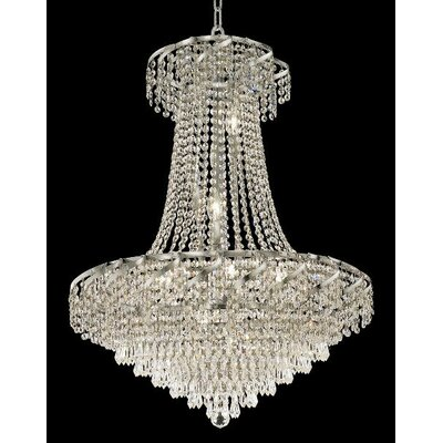 Elegant Lighting Belenus 15 Light Chandelier with Crystal
