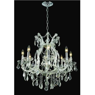 Elegant Lighting Maria Theresa 9 Light Chandelier