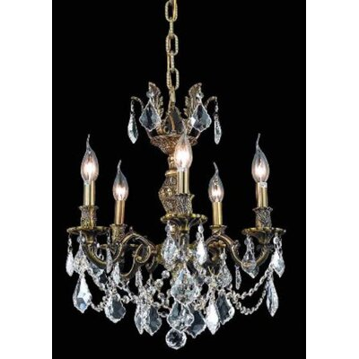 Elegant Lighting Marseille 5 Light Chandelier