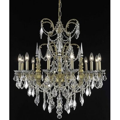Athena 12 Light Chandelier
