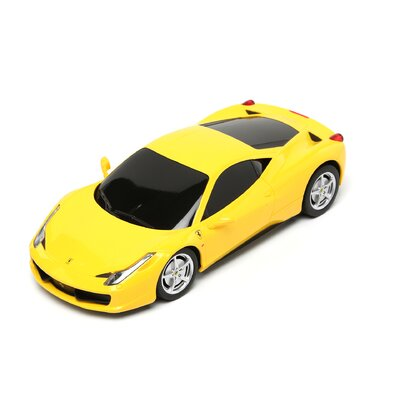 The Premium Connection Remote Control Ferrari in Yellow