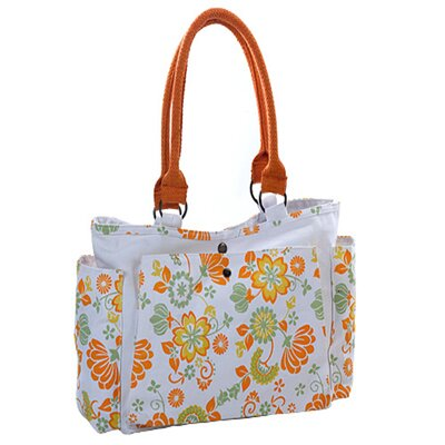 Natural Wild Orange Cotton Carry Tote Bag