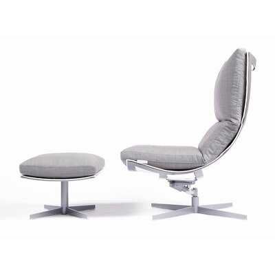 Spinnaker Ergonomic Recliner and Ottoman