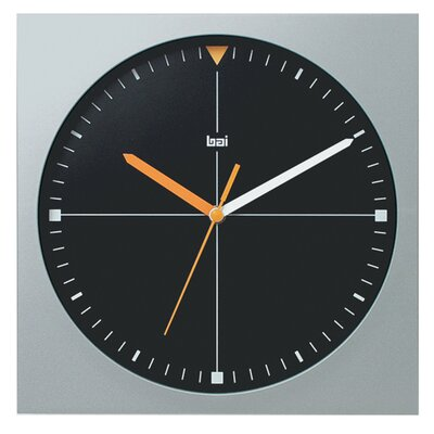 Bai Design Square Quadra Modern Wall Clock