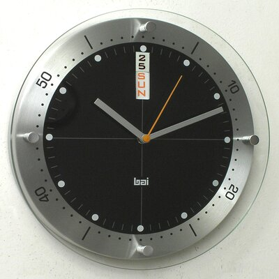 "Bai Design 12"" Timemaster Wall Clock"