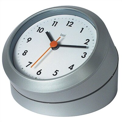 Twister Convertable Modern Wall and Desk Clock