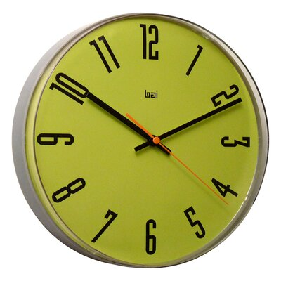 Bai Design Lucite Wall Clock in Cyber