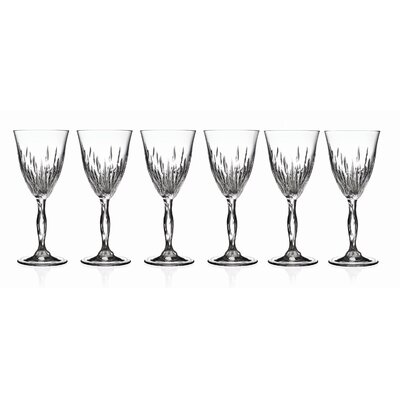 Lorren Home Trends RCR Fire Wine Goblet (Set of 6)