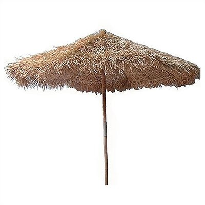 Bamboo54 5' Thatched Bamboo Market Umbrella