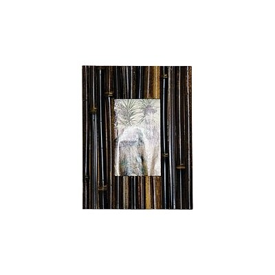 Bamboo Picture Frame in Fence Dark