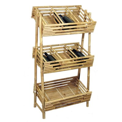 Knock Down 36 Bottle Wine Rack