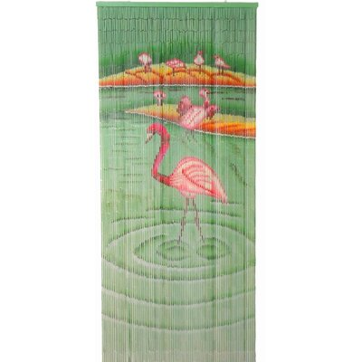 Bamboo54 Flamingoes Curtain