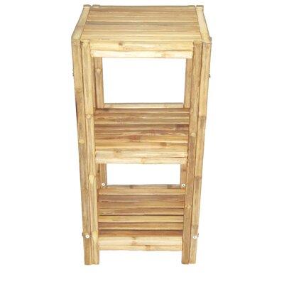 Bamboo Square Shelf