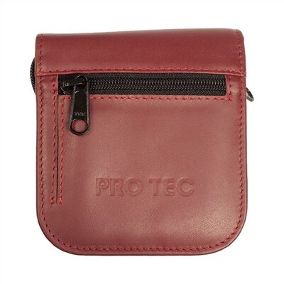 ProTec 2 Piece Small Brass Leather Mouthpiece Pouch