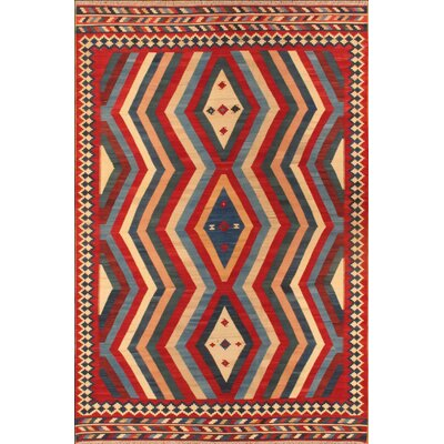 Apadana Inc. Kilim Multi-Colored Tribal Rug