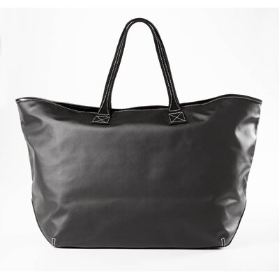 Clava Leather Carina Large Tote in Black