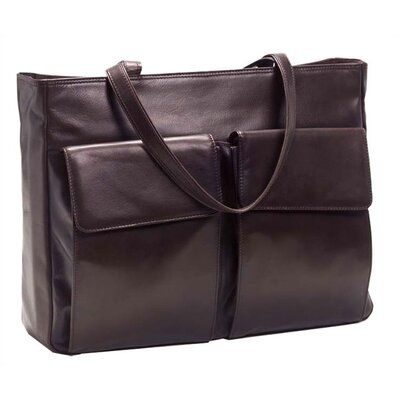 Laptop Tote with Removable Sleeve in Café