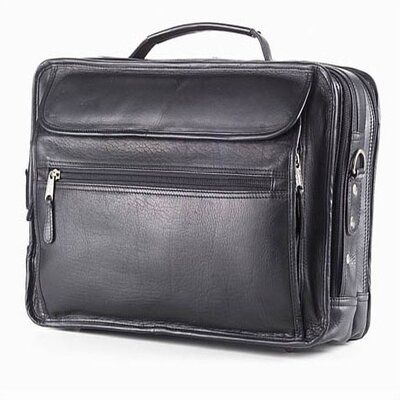 Vachetta Extra Large Laptop Briefcase in Black