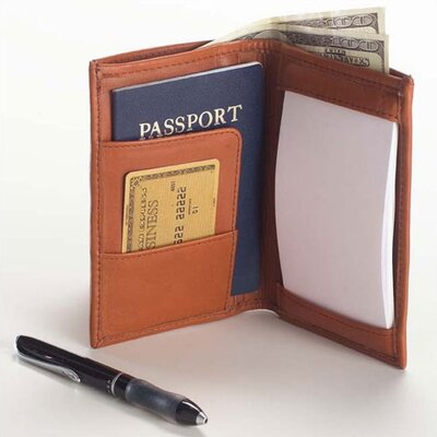 Clava Leather Quinley Small Notepad Jotter