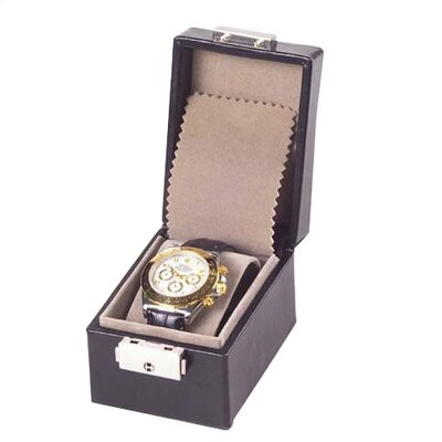 Tuscan Single Watch Box in Black
