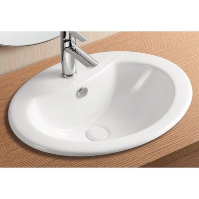 Caracalla Ceramica II Bathroom Sink