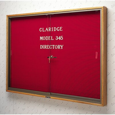 Claridge Products No. 345 Wood Framed Sliding  Door Directory