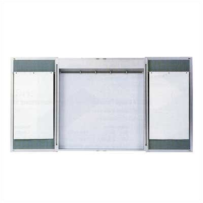 Claridge Products Premiere Cabinet Lecture Unit with Chalkboard