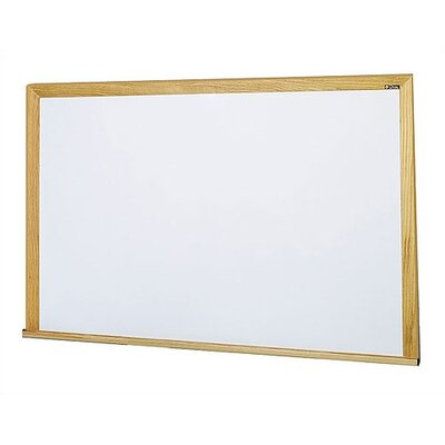 Claridge Products Special Low Gloss LCS Deluxe Wallboard with Wood Trim 4' x 4'