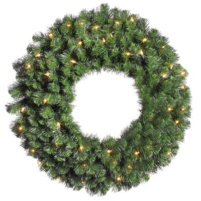 "Vickerman Co. Douglas Fir 42"" Wreath with Clear Lights"