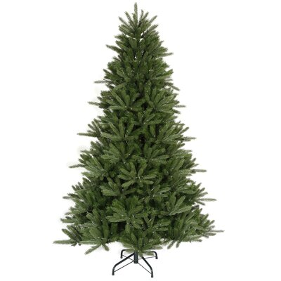 "Vickerman Co. Vermont Instant Shape 8' 6"" Green Artificial Christmas Tree with Stand"