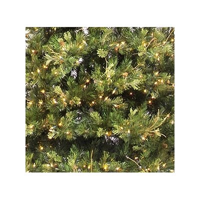 "Vickerman Co. Country Pine 7' 6"" Green Slim Pine Artificial Christmas Tree with 650 Pre-Lit Clear Lights with Stand"