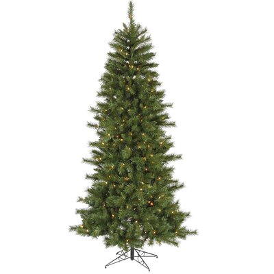 Vickerman Co. 9' Green Newport Mix Pine Artificial Christmas Tree with 650 Clear Mini Lights with Stand