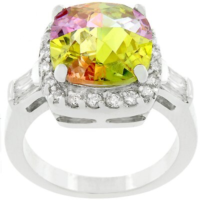 J Goodin Multi Color Cubic Zirconia Lucky's Ring