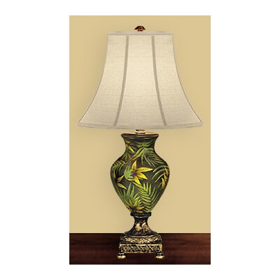 JB Hirsch Home Decor Palm Table Lamp