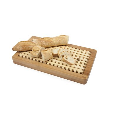 Core Bamboo Lattice Bread Board in One Tone