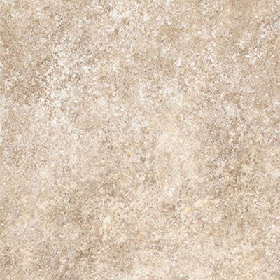 "Congoleum Ovations  Stone Ford 14"" x 14"" Vinyl Tile in Almond"
