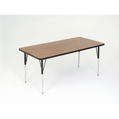 Correll, Inc. Large Rectangular Activity Table with Standard Legs