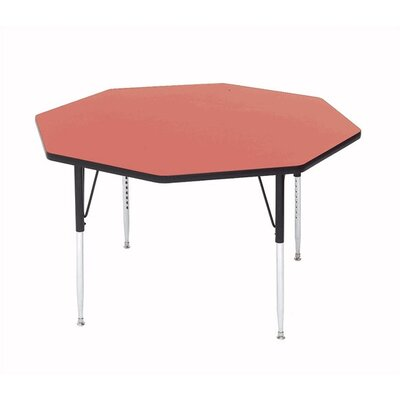 Correll, Inc. Octagonal Activity Table with Short Legs