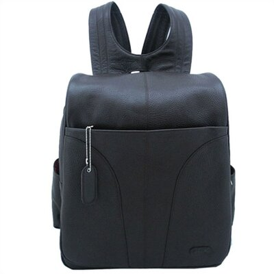 Laptop Backpack in Dark Chocolate