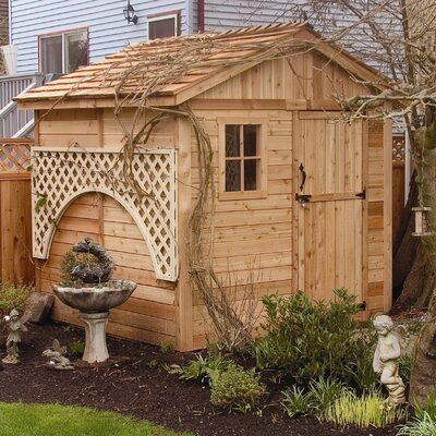 Outdoor Living Today Gardener's Wood Garden Shed