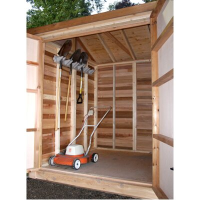 Outdoor Living Today Maximizer Wood Storage Shed
