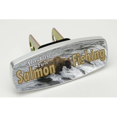 Heininger Holdings LLC HitchMate Salmon Fishing Alaskan Style Premier Series Hitch Cap