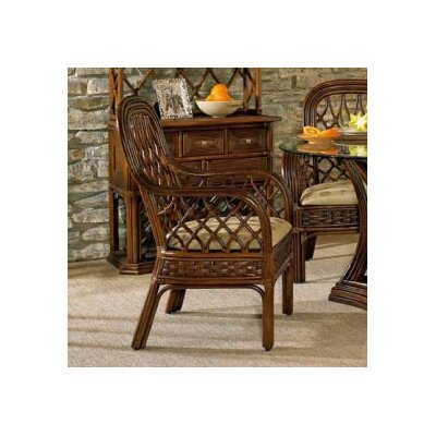 Boca Rattan Coco Cay Café Arm Chair