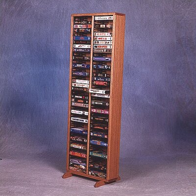 Wood Shed 200 Series 80 VHS Multimedia Storage Rack
