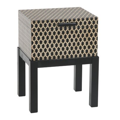 Gail's Accents Malago Woven Trunk End Table