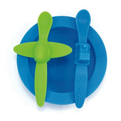 Oogaa Baby Mealtime Set in Blue