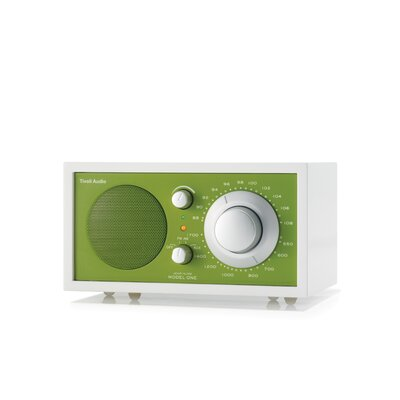 Tivoli Audio LLC Model One Radio - Frost White / Kelly Green