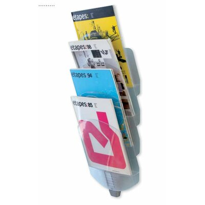 Paperflow Letter Vertebro Literature Display with Four Compartments